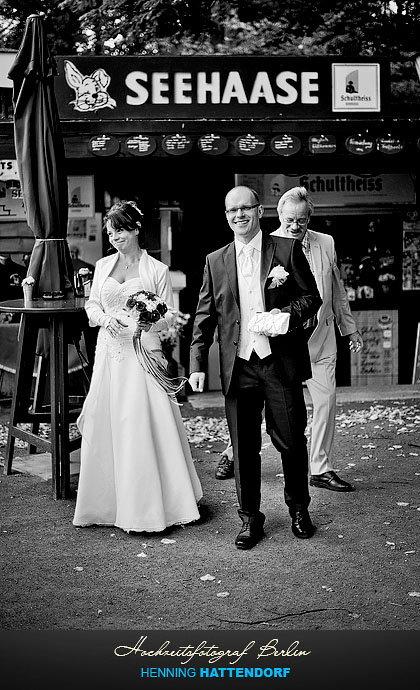 Hochzeitsfotograf Berlin Restaurant Seehaase