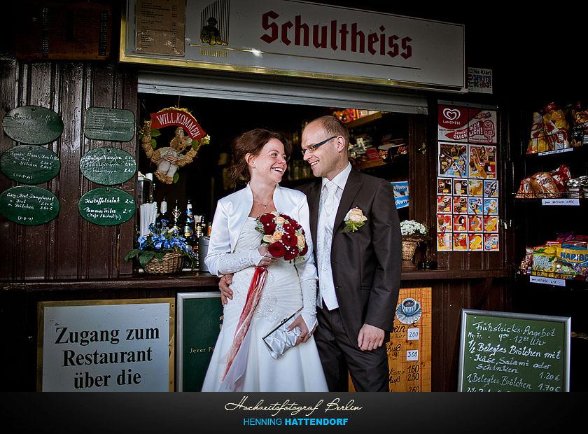 Hochzeitsportrait am Wannsee in Berlin