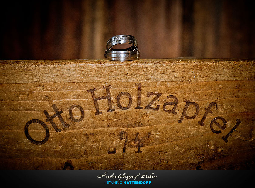 Hochzeitsfotograf Berlin Ringfoto Otto Holzapfel