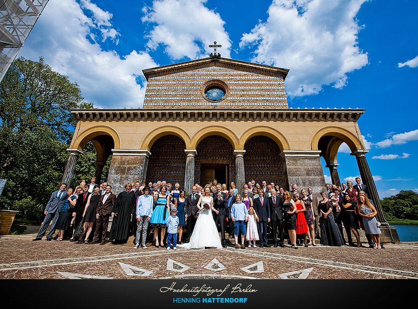 Hochzeit Potsdam Sacrow