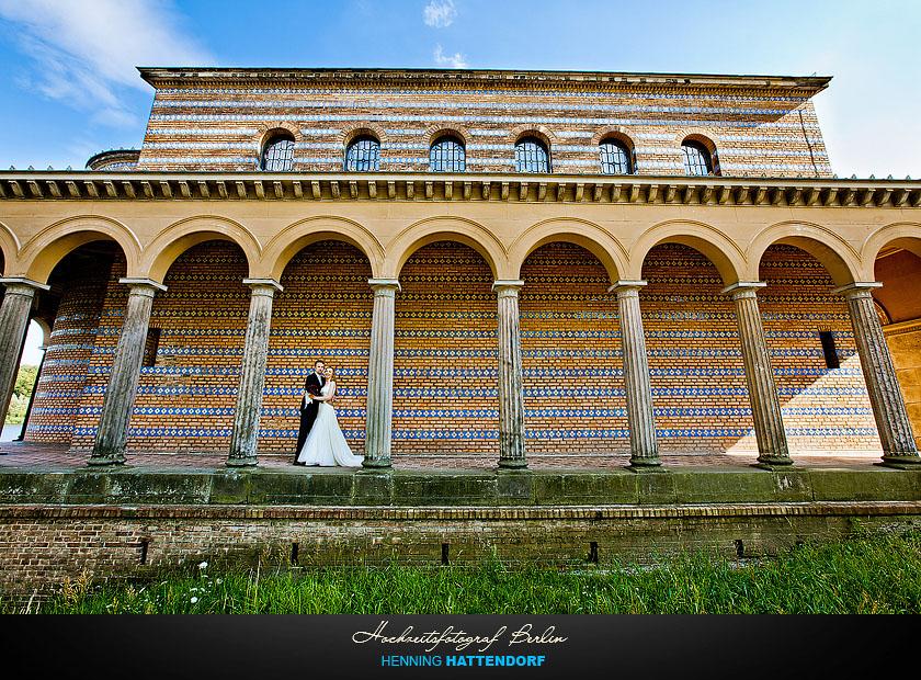 Hochzeitsfotograf Hochzeitsportrait Potsdam Sacrow