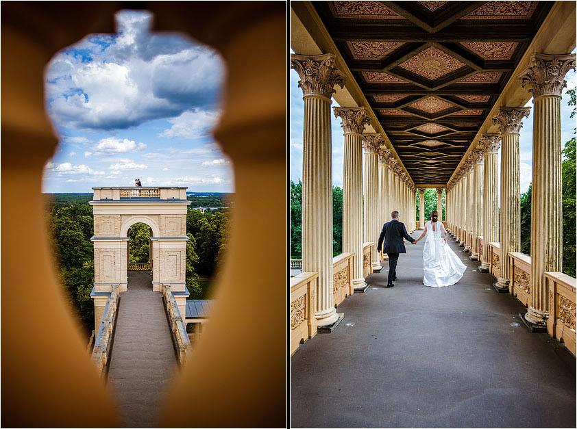 Hochzeitsfotograf Potsdam Pfingstberg Belvedere