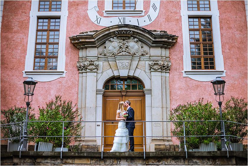 Hochzeitsfotograf Dresden Loschwitzer Kirche