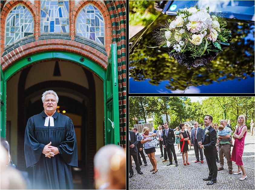 Hochzeitsfotograf Berlin Petruskirche