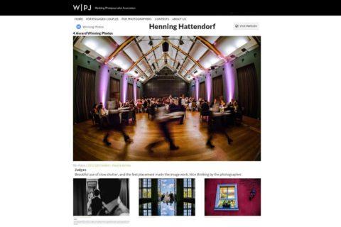 Hochzeitsfotograf Berlin WPJA Wettbewerb