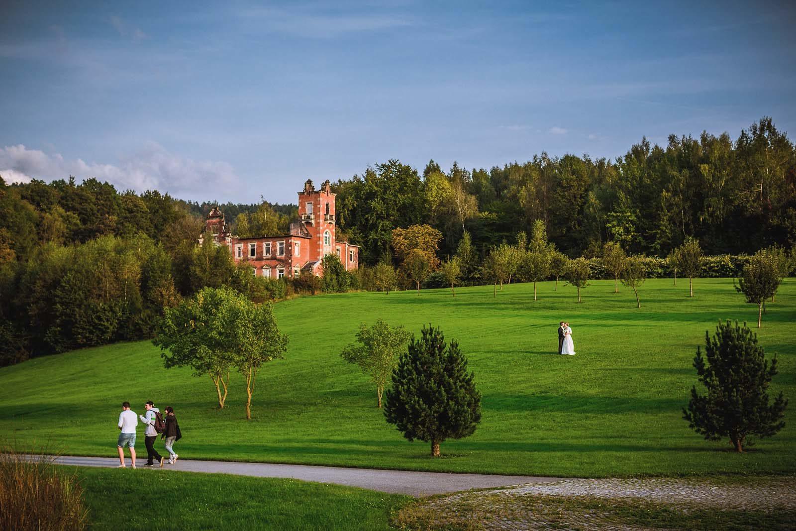Hochzeitsfotograf Erzgebirge Kurpark Schlema